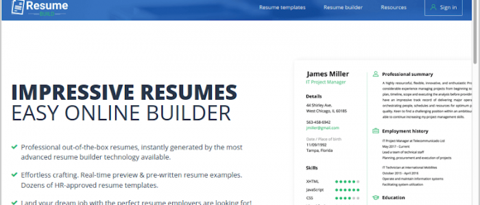 10 Best Resume Makers to Create a Beautiful Resume